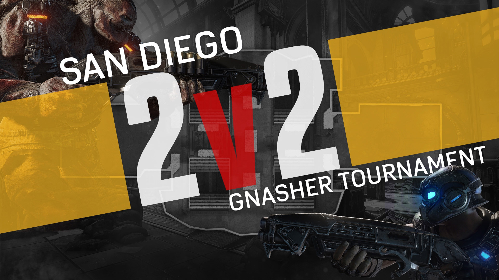 Gears Pro Circuit San Diego Open 2v2 Trailer