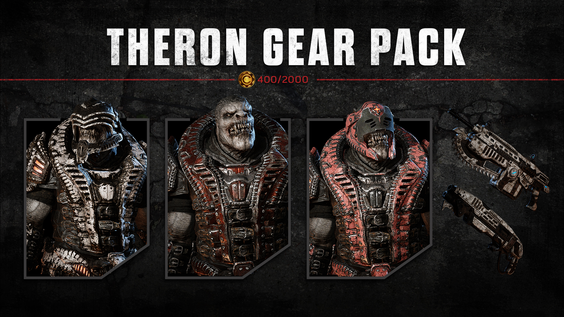 Gears of War 4 Theron Gear Pack Characters