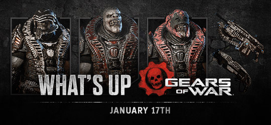 Gears of War - What's Up? January 17th 2019