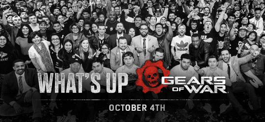 Gears of War - What's Up? Oct 4th 2018