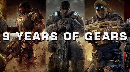 Nine Years of Gears of War