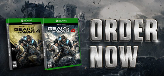 Gears of War 4 - Pre-Order Now Available!