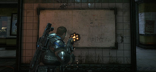 Gears of War 4 - March Update Gnasher Improvements