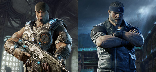 April Gear Pack - Marcus Fenix