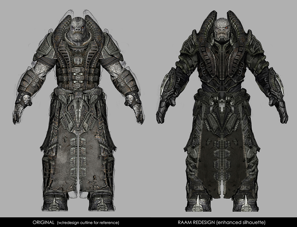 Character Design Site : Raam remastered community gears of war official site