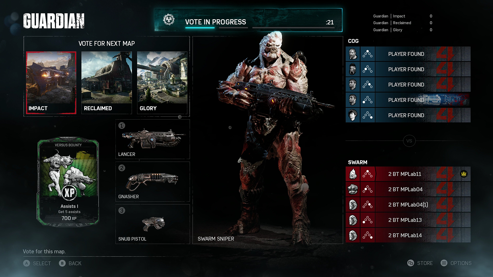 Matchmaking timed out gears of war 4