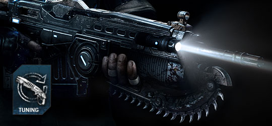 Gears of War 4 - April Weapon Tuning Update