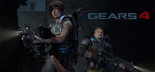 Gears of War 4 - Mídia