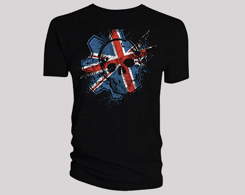 Gears of War Union Jack tee